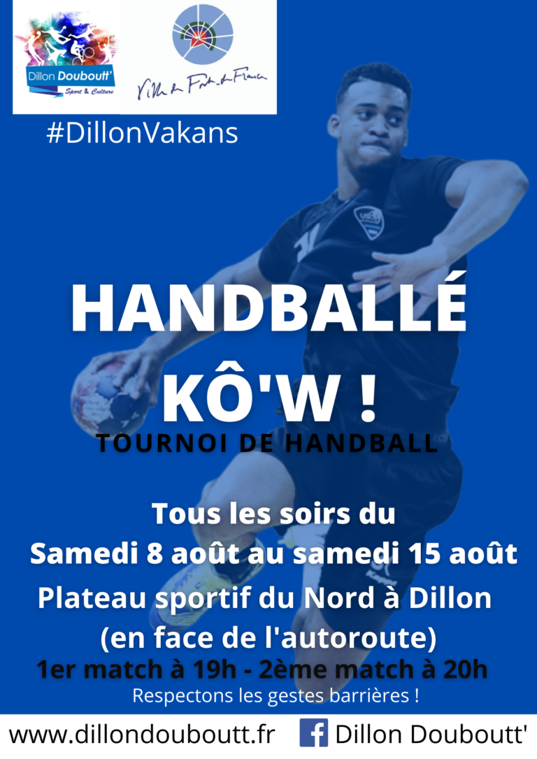 Planning Tournoi Handballé Kô'w !