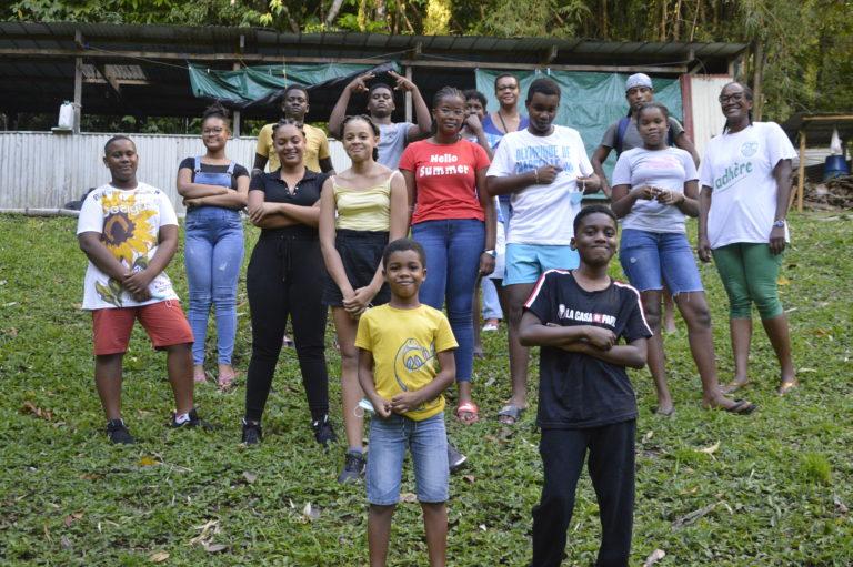 Les jeunes de Dillon Douboutt' en week-end mawonaj' au Morne-Vert !